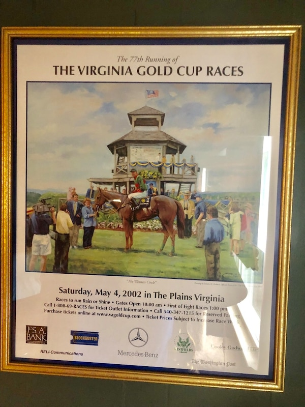 3 framed Horse racing Posters ccc706ab-33aa-4464-b516-8f724f8df5be