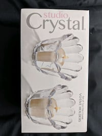 Crystal candle holders Mississauga, L5R 0E2