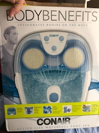 Foot spa used 1 time  Sanford, 32773