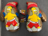 RARE SIMPSONS BOXING GLOVES! MIN CONDITION W/TAGS! Barrie, L4N 1L1