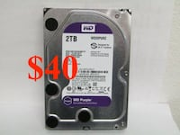 2 TB HARD DRIVE, Perfect for expanding storage for surveillance  system or laptop, not SSD, Apple  Manassas
