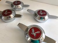 Zenith Spinner and Ruby Red Eagle Emblem Lowriders Los Angeles, 90002