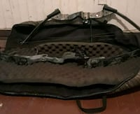 black and gray compound bow Houston, 77022