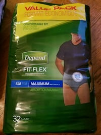 Depend underwear for men  Valparaiso, 46385