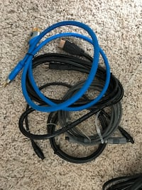 HDMI, Optical, RCA, power cables  Red Deer, T4N 7B8