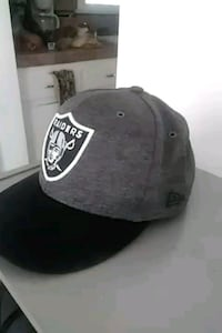 black and white Oakland Raiders cap Bakersfield, 93305