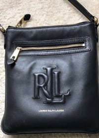Lauren Ralph Lauren black leather cross body Bag Falls Church, 22041