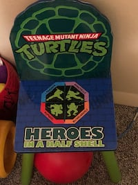 green and blue TMNT print textile Greeley, 80634
