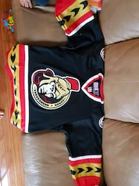 black, red, and yellow sports jersey Burlington, L7L 6S6