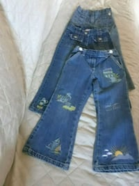 3 Gymboree Toddler Girl Jeans size 4 Los Angeles, 90022