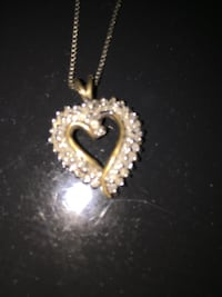 What's your offer? Worth $300! Heart diamond pendant worth $300