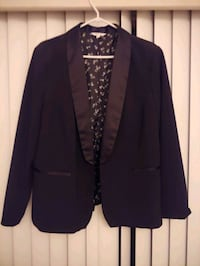 Women's tuxedo jacket, size 18. Only worn once.  North Vancouver, V7L 2C9