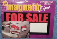 Magnetic For Sale Signs- 3 Pack New Orleans
