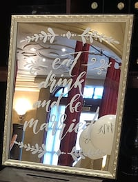 Wedding mirror frame Laval, H7L 5B6