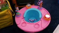 baby's pink and blue activity saucer Highland, 92346