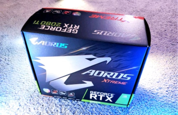 Gigabyte Aorus RTX 2080 Ti Xtreme Waterforce Graphics Card (GPU) With AIO  RGB Watercooling System (Brand New!)