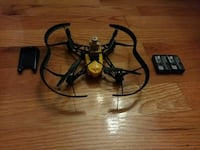 black and yellow quadcopter Laval, H7T 2A4