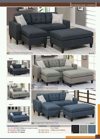 Sectional w/ottoman West Covina, 91792