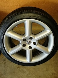 Nissan 350z Rims and Tires Bowie, 20721