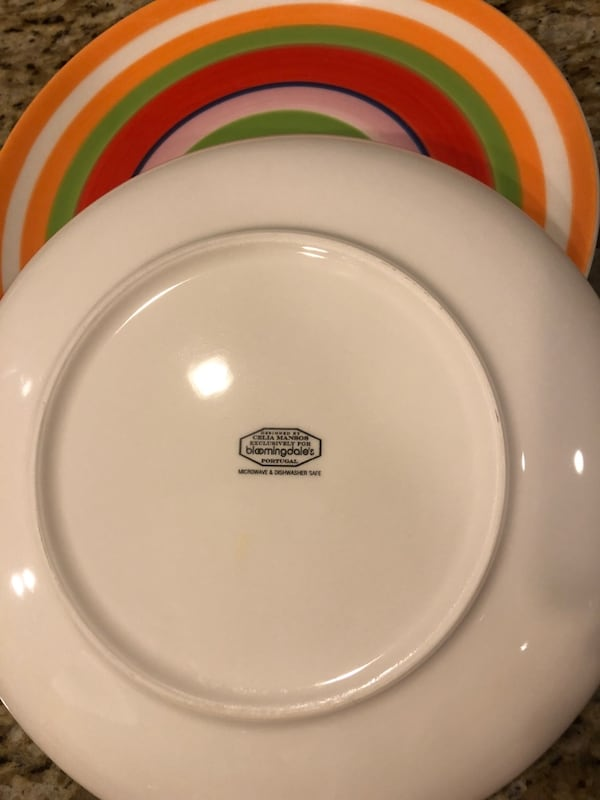 Dinnerware set Cecil Mansos for Bloomingdale's 14 pieces a4199b47-ea3f-4563-aa27-75eca71bad65
