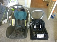 baby's black and green car seat carrier Edmonton, T5P 1T3