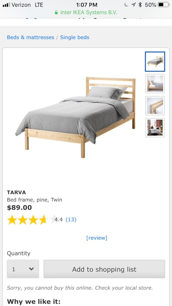 Used Used, bed frame only for sale in San Jose - letgo