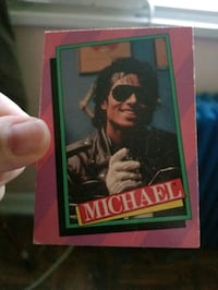 1984 Micheal Jackson card . make me a offer