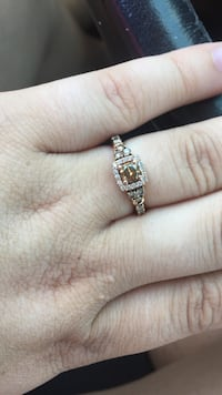 7/8 levian chocolate diamond ring Taneytown, 21787