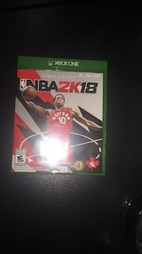 Xbox One NBA 2K18 case Toronto, M9W 6A5