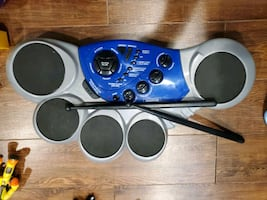 First Act Drum Set $45