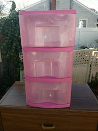 Little girls storage bins