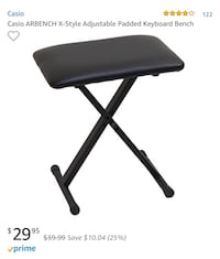 Casio Electronic Piano/Keyboard Bench  Sugar Land, 77498