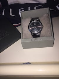 Brand new Guess watch with box, spare batteries, and warranty.  Oshawa, L1J 6N9