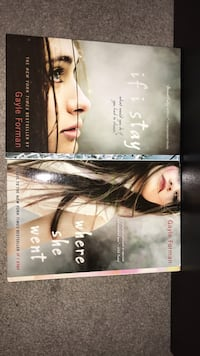 """""""if i stay"""" and """"where she went"""" by Gayle Forman Toronto, M9W 3R3"""