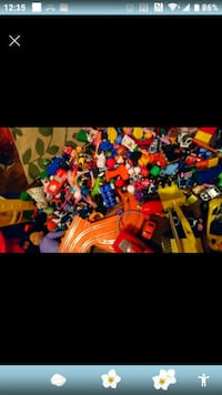 4 large garbage bags full of toys for sale