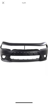 2015-2016 Dodge Charger front bumper replacement Mebane, 27302