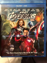 Avengers blu ray signed by Stan lee
