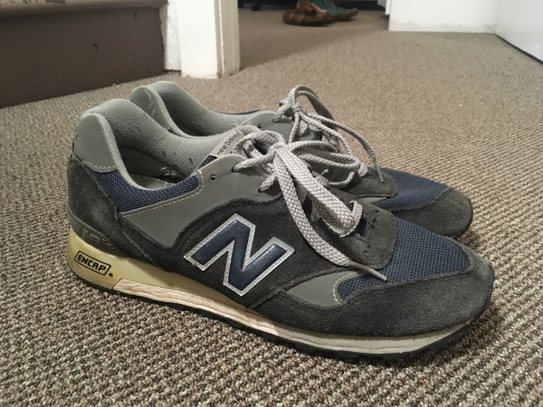 big sale fd268 fb745 Used Men's New Balance 577 Suede Blue/Gray (Size 9) for sale ...