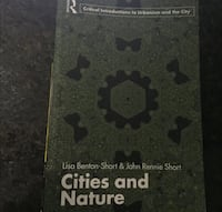 Cities and Nature textbook Toronto, M1X