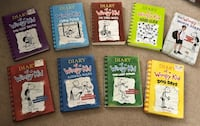 Diary of a Wimpy Kid Books 1-8 and The Movie Diary South Plainfield, 07080