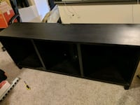 Black/Brown Cabinet - Ikea BESTA series