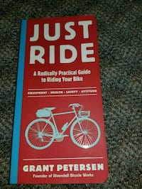 Just ride guidebook to riding your bike Burnaby, V3N 1B1