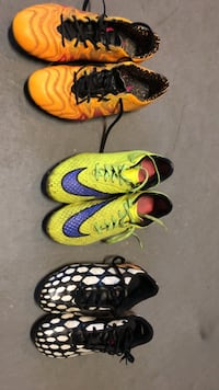 Soccer shoes - various  Brampton, L6Y 5B3