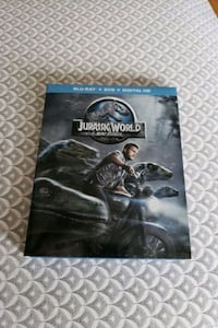 Jurassic world on Blu-ray and DVD