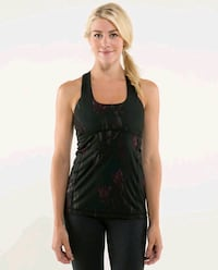 Lululemon Midnight Iris Scoop neck tank size 12