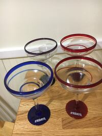 four round clear glass bowls Germantown, 20874