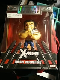 New Metals Die Cast X-Men Logan Wolverine figurine Mount Vernon, 10550