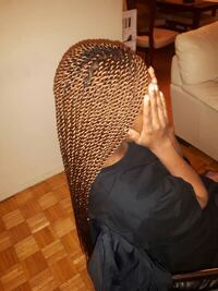 African Hair Braiding  Service Text now and get your hair done Toronto