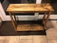 Rustic Farmhouse Accent ~ Entry Table  266 mi