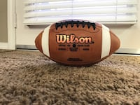 Wilson GST Youth Leather Football-New Fontana, 92336